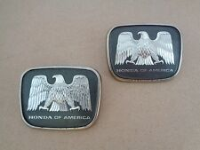 JDM Honda Of America Set Of 2 Emblems OEM