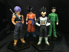 Dragon Ball Z #B 4pc set PVC Figures 13cm toy doll gift Gokou Vegeta Trunks