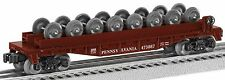 Lionel 6-26699 PRR Flatcar with wheel load New in Box 3 rail Traditional 0 Gauge