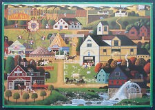 jigsaw puzzle 1000 pcs Chester County Fair HomeTown Collection Heronim 1996