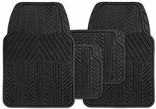 Honda Aerodeck Universal Valour 4PC Black Rubber Carpet Mat Set