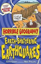 Earth-Shattering Earthquakes - Horrible Geography  (Paperback, 2010) New Book