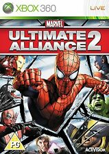 * XBOX 360 Refurbished GAME * MARVEL ULTIMATE ALLIANCE 2