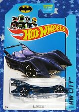 Batman Hot Wheels Blue Batmobile Die Cast Car Toy from 2013 New MISP
