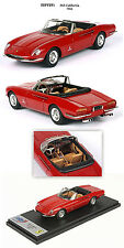Ferrari 365 California S/N 09127 1966 Red 1/43 BBR255A BBR Made in Italy