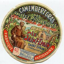 FROMAGE CAMEMBERT LE SAINT EPAIN DES VALLEES PITTORESQUE
