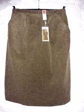 BNWT Vintage Unworn Olive Green Corduroy St Michael Skirt UK 18 M&S EU 46 - 48