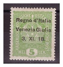 VENEZIA GIULIA 1918 - 5  HELLER   NUOVO   *
