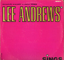 "LEE ANDREWS & THE HEARTS ""SINGS"" DOO WOP RHYTHM & BLUES LP POST 5000"