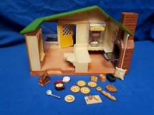 SYLVANIAN FAMILIES.  WATERMILL BAKERY AND ACCESSORIES USED