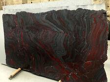 Tischplatte Arbeitsplatte Naturstein EISENROT Granit Abdeckung Steinplatte Küche