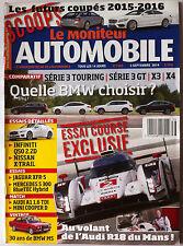 Le moniteur Automobile 3/09/2014; Infiniti Q50 2.2 d/ Nissan X-trail/ Jaguar XFR