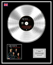 QUEEN Ltd Edition CD Platinum Disc Record GREATEST HITS