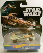 X-WING FIGHTER CAR STAR WARS CARSHIPS DISNEY HOT WHEELS DIECAST 2016