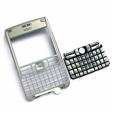 Genuine Nokia N61 E61 Front fascia housing+QWERTY keyboard keypad metal cover