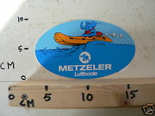 STICKER,DECAL METZELER LUFTBOOTE