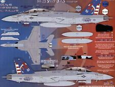Fightertown 1/48 Boeing F / A-18E F / A-18F Super HORNETS vx-23 Salty CANI sciopero TE