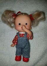 """Vintage Hong Kong Doll 7"""" sucks thumb"""