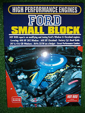 HOT ROD on Ford Windsor & Cleveland Small Block ENGINES tune modify book manual