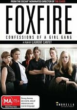 Foxfire Confessions Of A Girl Gang DVD Region 4 (VG Condition)