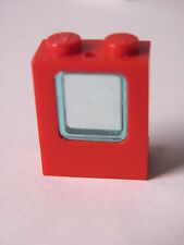 LEGO 2377 + 4862 @@ Window 1 x 2 x 2 Plane Trans Light Blue 4031 6335 6375 7944