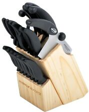 Miracle Blade III 17 Piece Perfection Series Knife Block Set NEW AS SEEN ON TV