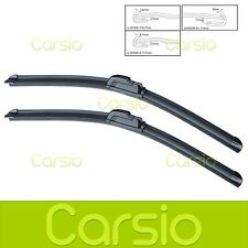"Fiat Barchetta 1995 - 2004 Aero Flat Windscreen Wiper Blades (Pair) 19""/19"""