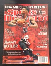 JIMMY BUTLER FIRST 2015 SPORTS ILLUSTRATED NEWSSTAND ISSUE CHICAGO BULLS