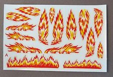 1950's to 1960's Impko HOT ROD FLAMES decals for model kits  MINT in package