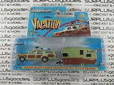 GREENLIGHT National Lampoon's 1979 WAGON QUEEN FAMILY TRUCKSTER & TRAVEL TRAILER