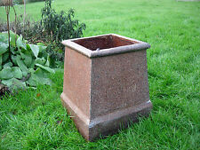 Antique Reclaimed Glazed Chimney Pot Garden  Planter (12018)