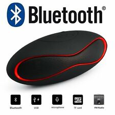 Portable Bluetooth Boombox Wireless Stereo Speaker For SmartPhone iPhone Tablet