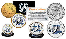 Tampa Bay Lightning 2-Coin Set Jfk Half Dollar Us & Florida Quarter Nhl Licensed