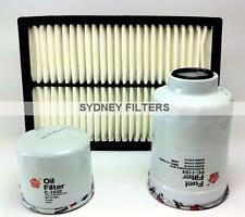 FILTER KIT to suit MAZDA 3 TURBO DIESEL 2.0L & 2.2L AIR OIL FUEL FILTER KIT