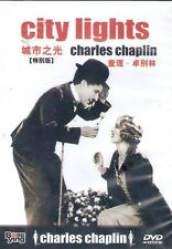City Lights DVD Charles Chaplin NEW R0 Classic