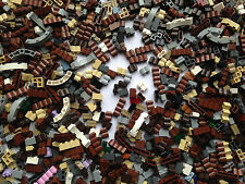 LEGO - NEW Wall Bricks / Masonry, Log, Grille Etc / 25 Random Pieces Per Order