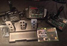 Steel Battalion With Controller Peripherals And Line Of Contact Xbox