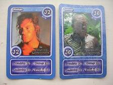Morrisons Disney Trading Cards 2012: Philips (J2) and Cunner (J6)
