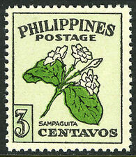Philippines 530, MI 492, MNH. Sampaguita, Natioal Flower, 1948