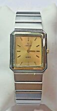 Vintage Stainless Steel 18k Mariner SG Concord Ladies Watch  ~ New Battery ~