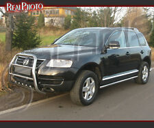 VOLKSWAGEN TOUAREG 02-06, BULL BAR, NUDGE BAR, A BAR + GRATIS!!! STAINLESS STEEL