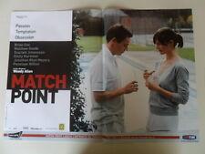 """#LOCANDINA FILM """"MATCH POINT"""" (A)"""