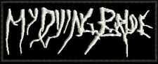 MY DYING BRIDE EMBROIDERED PATCH DOOM DEATH ANATHEMA PARADISE LOST Metal Negro