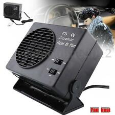 DC 12V 150/300W Car Ceramic Heater Warmer Hot & Coolling Fan Defroster Demister