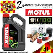 4L MOTUL 5000 10W40 OIL AND HF303 FILTER CHANGE YAMAHA YZF600R THUNDERCAT 1997