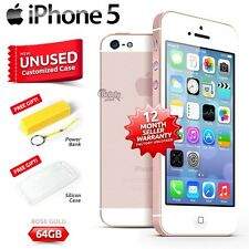 New in Sealed Box Factory Unlocked APPLE iPhone 5 Rose Gold 64GB 4G Smartphone