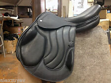 "Germida 17.5"" Cross Country Monoflap Exclusive English Jumping Saddle NEW"