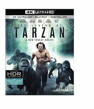 THE LEGEND OF TARZAN   (4K ULTRA HD) - Blu Ray -  Region free