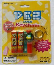 Pez Candy Lion Keychain Basic Fun Assorted Fruit New 1999 Sealed