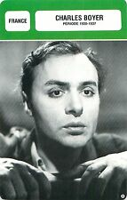 Charles Boyer FRANCE USA  Période 1920-1937 ACTOR  ACTEUR FICHE CINEMA